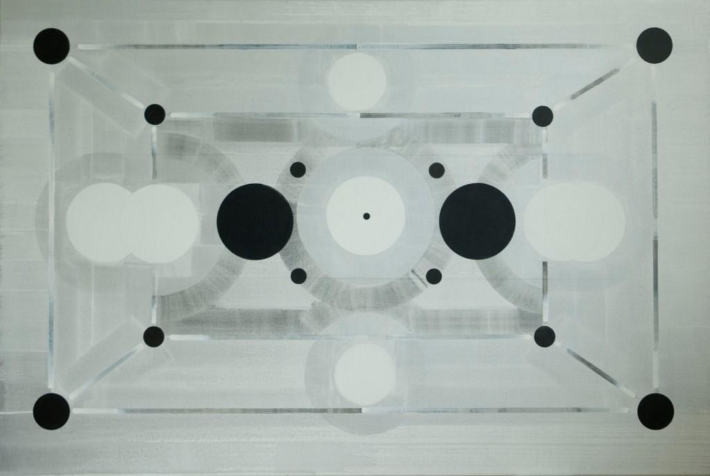 Johan Zevenbergen, Ruimte ruimte (claire obscure) 2000