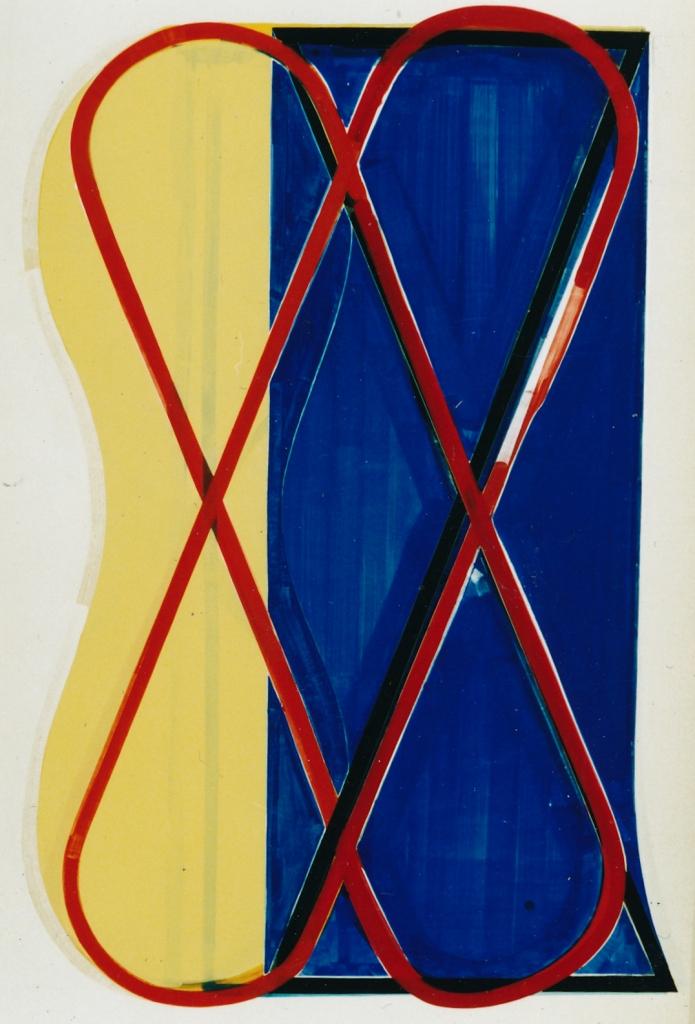 Johan Zevenbergen, Love, Yellow, Blue. 1998-'99