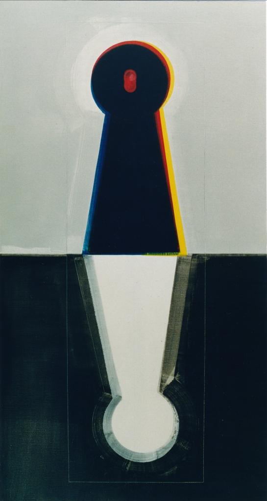 Johan Zevenbergen, De Schreeuw. (Boven Onder) 2000
